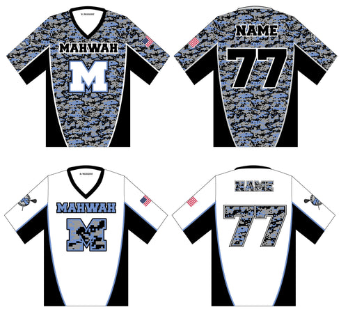 Mahwah Lacrosse Sublimated Jersey Package - 5KounT2018