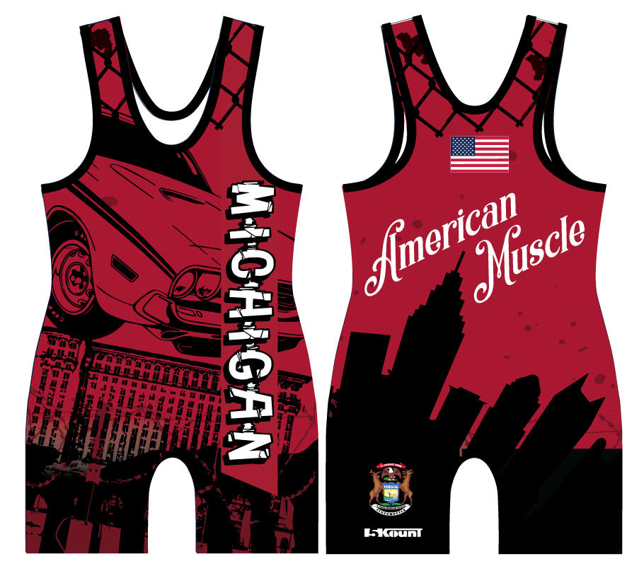 STATE - Michigan Singlet