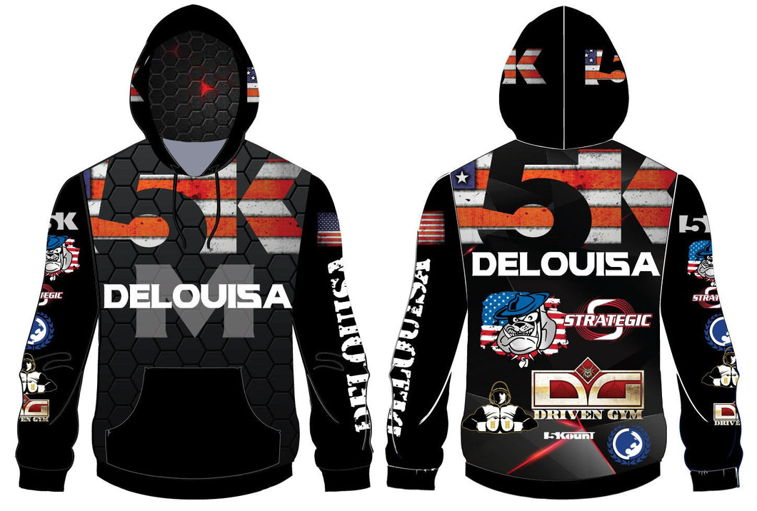 DeLouisa MMA Sublimated Hoodie