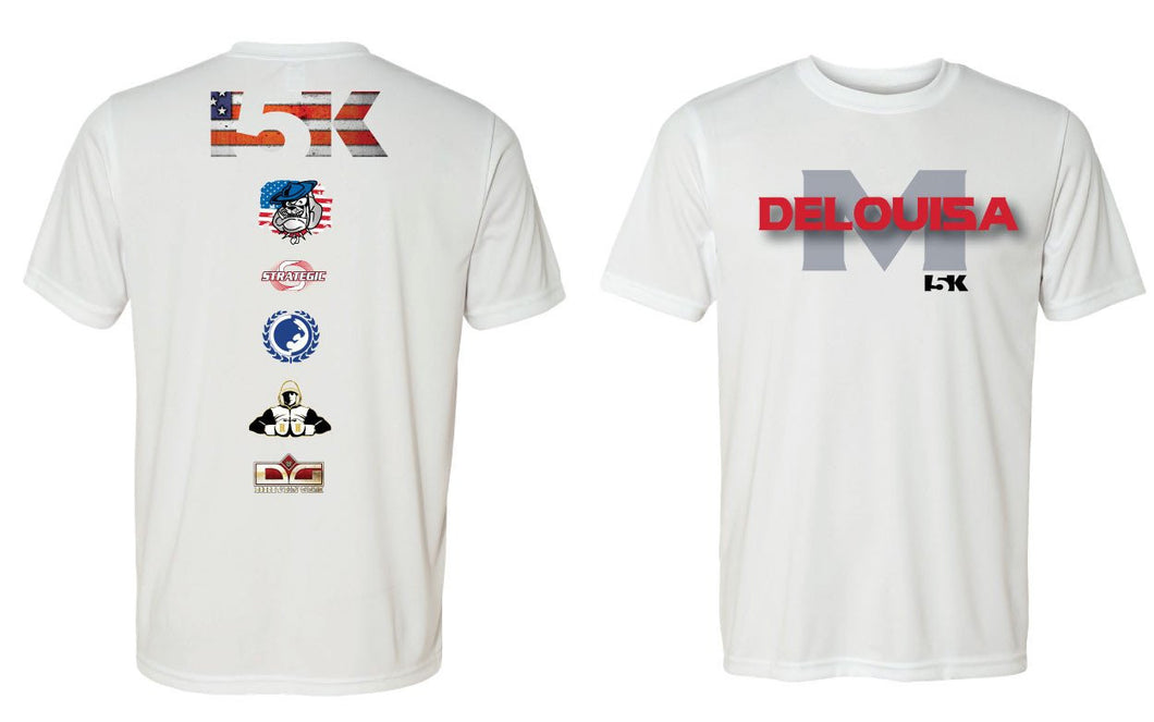 DeLouisa MMA Sublimated DryFit Performance Tee
