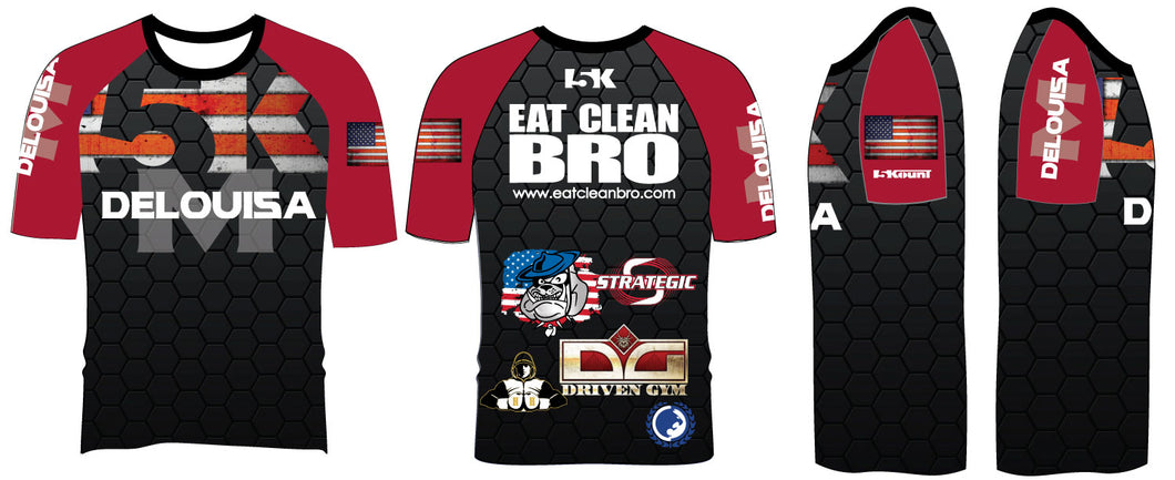 Delouisa MMA 2017 Sublimated Fight Shirt