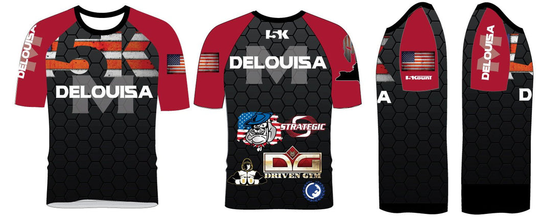 Delouisa MMA Sublimated Fight Shirt