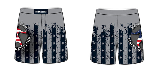 American MMA Wrestling Sublimated Fight Shorts