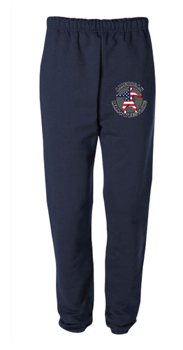 American MMA Wrestling Cotton Sweatpants Navy/Gray