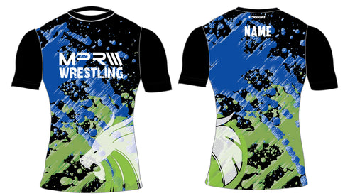 MPR Wrestling Sublimated Compression Shirt - 5KounT
