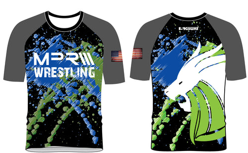 MPR Wrestling Sublimated Fight Shirt - 5KounT