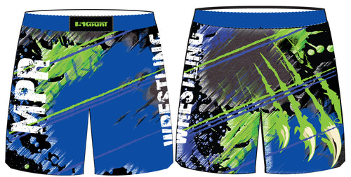 MPR Wrestling Sublimated Fight Shorts - 5KounT
