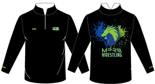 MPR Wrestling Sublimated Quarter Zip - 5KounT
