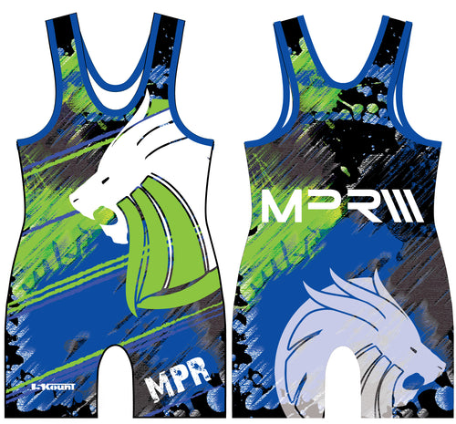 MPR Wrestling Sublimated Singlet - 5KounT