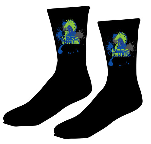 MPR Wrestling Sublimated Socks - 5KounT