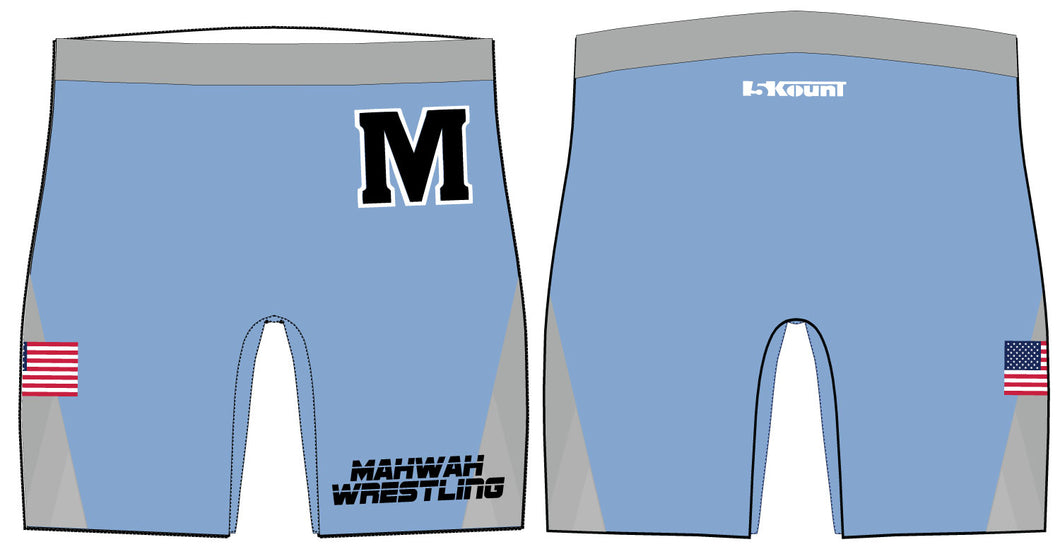 Mahwah Wrestling Sublimated Compression Shorts