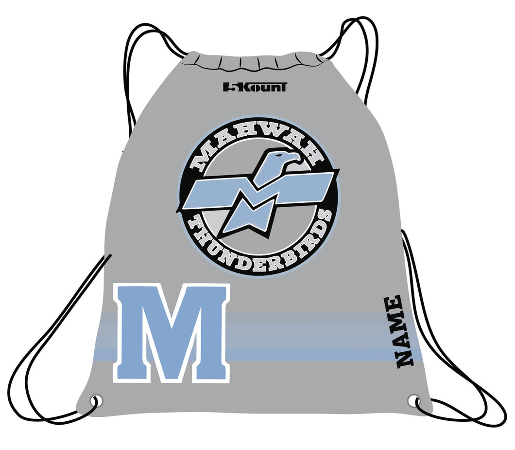 Mahwah Wrestling Sublimated Drawstring Bag - 5KounT
