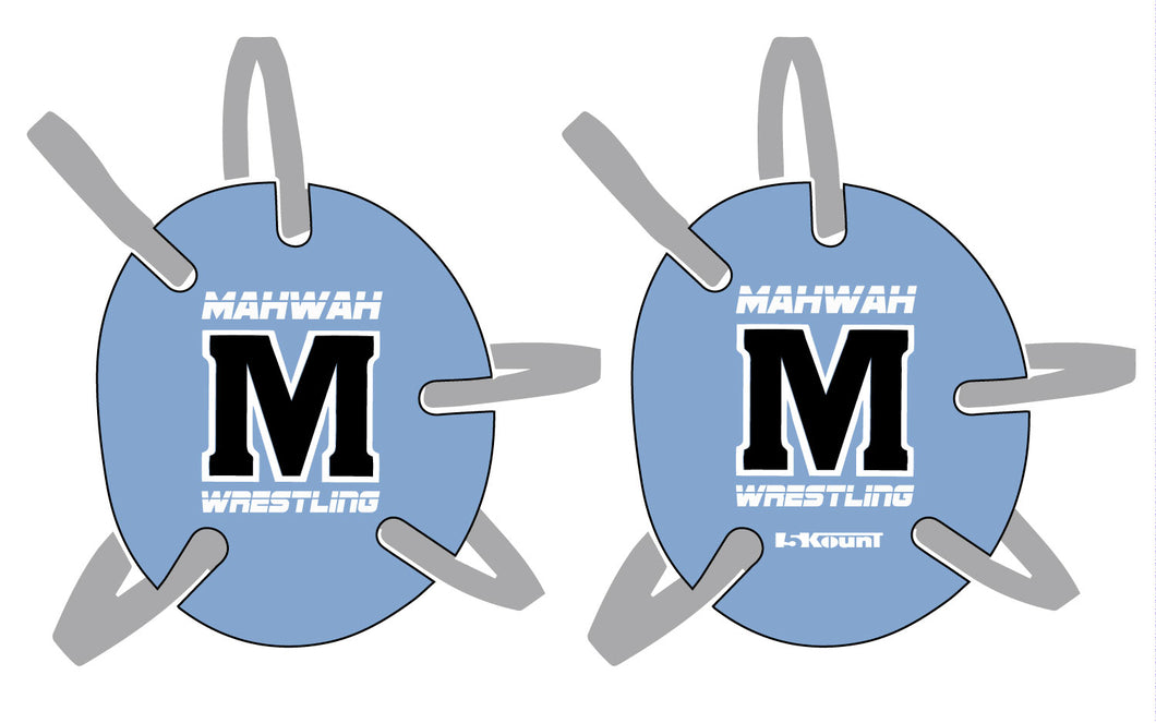 Mahwah Wrestling Headgear Decal