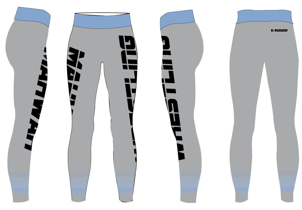 Mahwah Wrestling Sublimated Ladies Legging - 5KounT