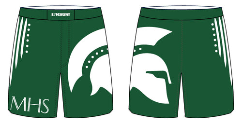 Maloney HS Wrestling Sublimated Fight Shorts - 5KounT2018