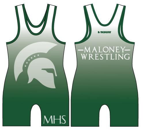 Maloney HS Wrestling Sublimated Singlet - 5KounT2018