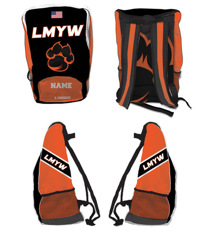 LMYW Sublimated Backpack - 5KounT2018
