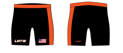 LMYW Sublimated Compression Shorts - 5KounT2018