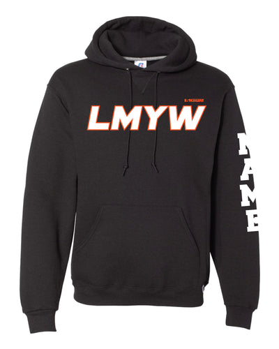 LMYW Russell Athletic Cotton Hoodie - Black - 5KounT2018