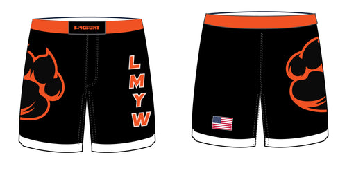LMYW Sublimated Fight Shorts - 5KounT2018