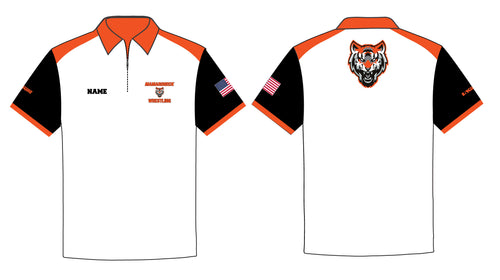 Mamaroneck Wrestling Sublimated Polo Shirt - 5KounT2018