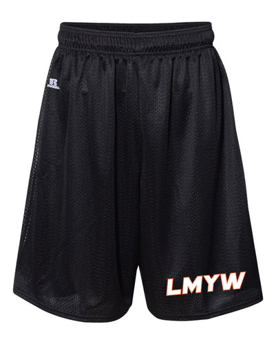 LMYW Russell Athletic Tech Shorts - Black - 5KounT2018