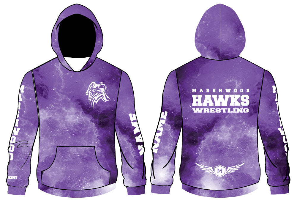 Marshwood Wrestling Sublimated Hoodie