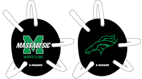 Massabesic Youth Wrestling Headgear Decal