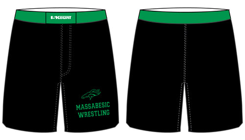 Massabesic Youth Wrestling Sublimated Fight Shorts - 5KounT2018