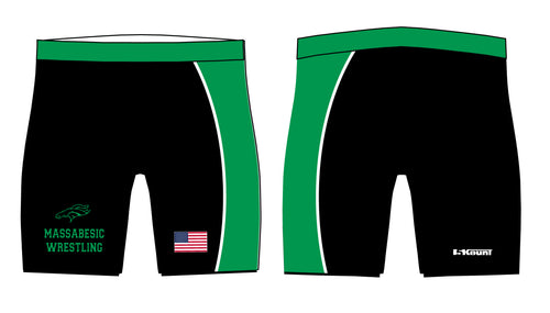 Massabesic Youth Wrestling Sublimated Compression Shorts - 5KounT2018