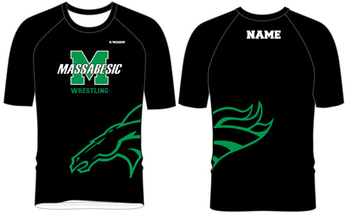 Massabesic Youth Wrestling Sublimated Fight Shirt - 5KounT2018