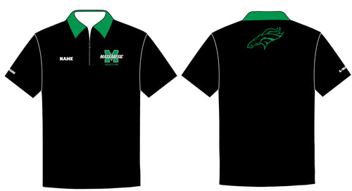 Massabesic Youth Wrestling Sublimated Polo - 5KounT2018