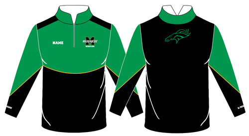 Massabesic Youth Wrestling Sublimated Quarter Zip - 5KounT2018