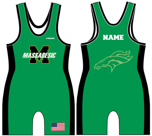 Massabesic Youth Wrestling Sublimated Singlet Design 1 - 5KounT2018