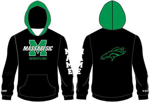 Massabesic Youth Wrestling Sublimated Hoodie - 5KounT2018