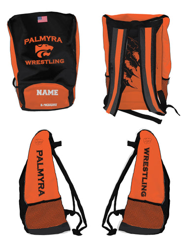 Palmyra Wrestling Sublimated Backpack - 5KounT2018