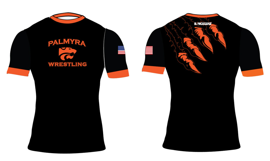 Palmyra Wrestling Sublimated Compression Shirt