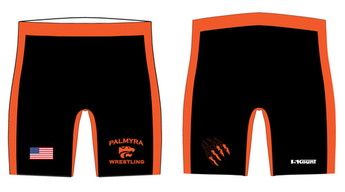 Palmyra Wrestling Sublimated Compression Shorts