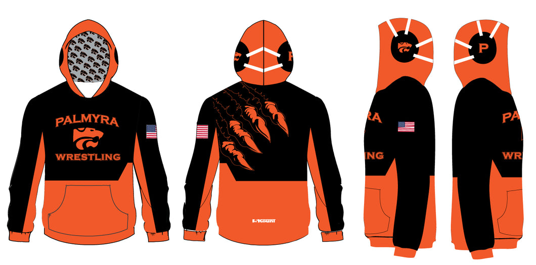 Palmyra Wrestling Sublimated Hoodie