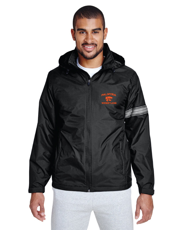 Palmyra Wrestling All Season Hooded Jacket - Black