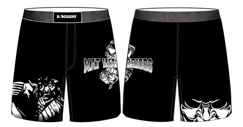 Mat Warriors Sublimated Fight Shorts