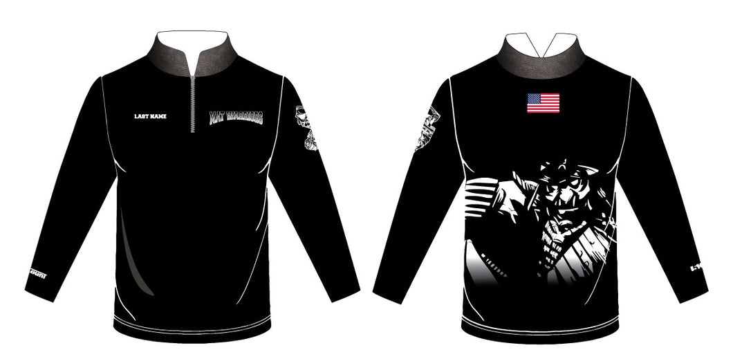 Mat Warriors Sublimated Quarter Zip - 5KounT