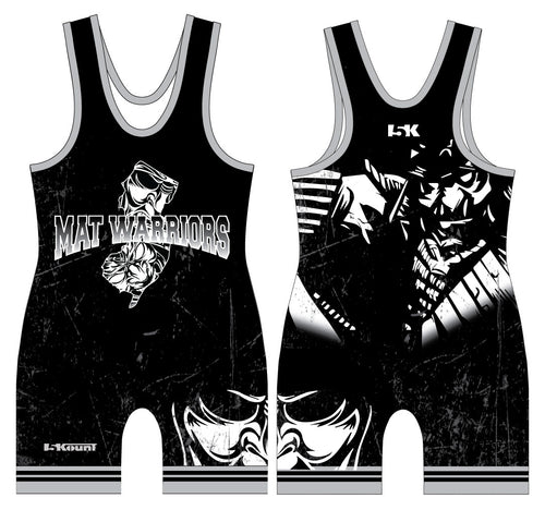 Mat Warriors Sublimated Singlet 2017