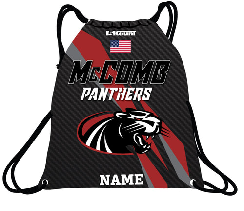 McComb Panthers Sublimated Drawstring Bag