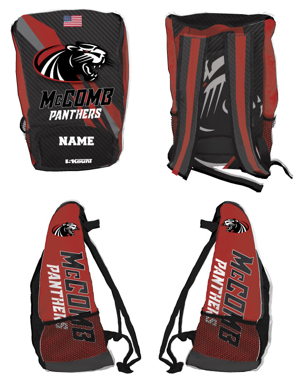 McComb Panthers Sublimated Backpack - 5KounT2018