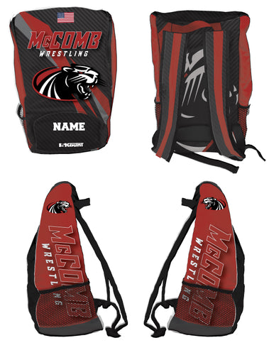 McComb Wrestling Sublimated Backpack