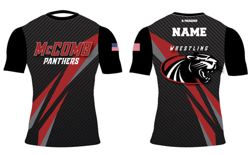 McComb Panthers Sublimated Compression Shirt
