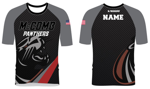 McComb Panthers Sublimated Fight Shirt - 5KounT