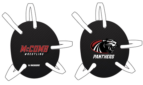 McComb Wrestling Panthers Wrestling Headgear Decal