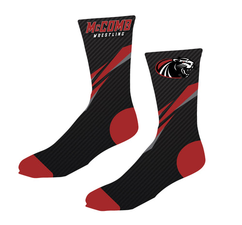 McComb Wrestling Sublimated Socks